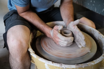 When pottery stalls are not so popular, it's not just for potters